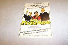 PROGRAMME THEATRE EDOUARD VII LA FROUSSE SACHA GUITRY DANIEL PREVOST LAFONT MARI