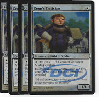 TCG 45 MtG Magic the Gathering Cenn's Tactician Foil Gateway Promo Play Set (4)