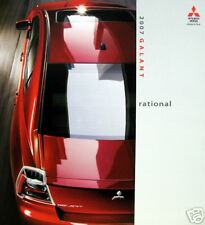 2007 Mitsubishi Galant sedan new vehicle brochure