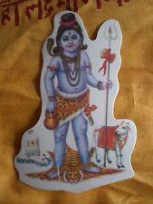 Aufkleber goa psy hippie sticker indien inde Shiva Nandi yoga om gott 1
