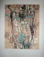 Dayez Georges Lithographie signée numérotée cubisme art artiste cubiste Mourlot
