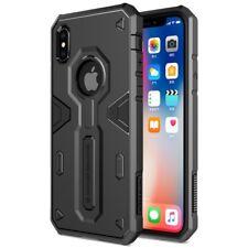 Apple iPhone X 10 NILLKIN Outdoor Case Defender II Series Hybrid Hülle Schwarz