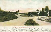 FIRTHCLIFFE NY – O. & W. Railroad Station - 1909