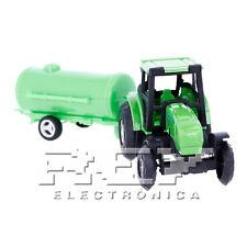 Tractor Cisterna Juguete Miniatura Vehículo Agrícola ¡Desde España! j152