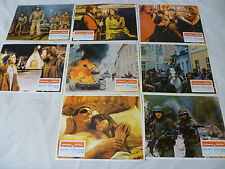 VINTAGE 1969 BURT LANCASTER CASTLE KEEP LOBBY CARD LOT #1-8 PATRICK O' NEAL SET