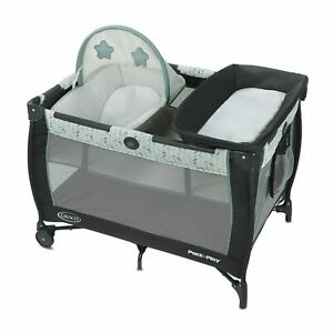 Graco Pack 'n Play Care Suite Playard with Diaper Changer - Birch ~ New In Box