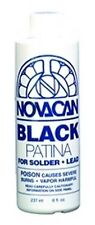 Stained Glass Supplies - BLACK PATINA-8oz - ORMD (Free Shipping)
