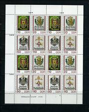 DDR Mi.Nr. 3306-09 ZD-Bogen postfrisch