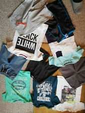 10 Teile moderne Shorts T-Shirt Kombinationen Sommerpaket Junge Gr.134/140