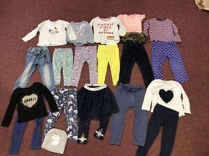 Girls Age 3-4 Years Bundle Next Nutmeg Tops Leggings Outfits Nursery Jeans Hat