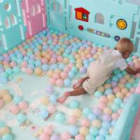 850X Outdoors Plastic Ocean Ball Baby Kids Toys Swim Pit Pool Game 6.5cm s.~,
