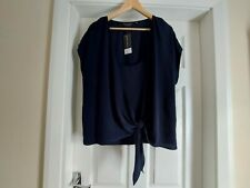 """Blouse""""Dorothy Perkins"""" Navy Colour Size: 20 (UK) Eur 48, US 16 New With Tags"""