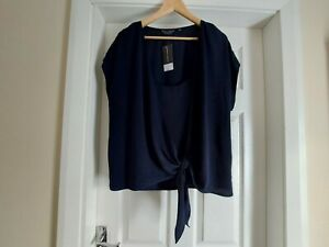 "Blouse""Dorothy Perkins"" Navy Colour Size: 20 (UK) Eur 48, US 16 New With Tags"