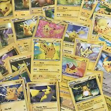 Pokemon PIKACHU EVOLUTION 25 CARD SET (NM/M) Pokemon Lot - NO DUPLICATES -