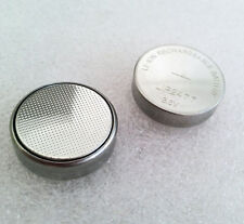 2 pcs x 3.6V LiR2477 Rechargeable Coin Button Cell Battery can replace CR2477