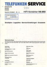 Anleitungen & Schaltbilder Original Service Manual Telefunken W240hifi W248 W 268 Tw 268 Hifi