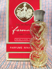 Vintage 1980s Farouche Nina Ricci 1/3 oz 10 ml Eau de Parfum Boxed - OLD FORMULA