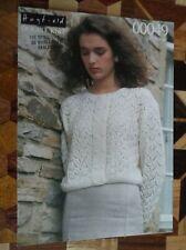 LADIES SHORT SLEEVED SUMMER  SWEATER  KNITTING PATTERN  28/40 INCH Crocheting & Knitting 150