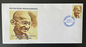 Madagascar 2019 / 2020 Mohandas Mahatma Gandhi India 150 years RARE FDC Cover