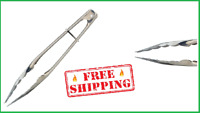 KitchenCraft Small Stainless Steel Food Tongs, 23 cm 9 New