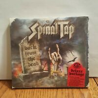 Spinal Tap SEALED CD + DVD DELUXE PACKAGE Back From The Dead Fold Out Action Fig