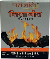 Baba Ramdev Shilajit tab Authentic by Patanjali / from India