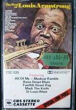 The Very Best Of Louis Armstrong Vintage Cassette