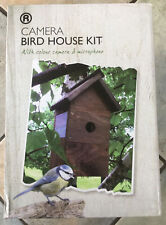 Camera Bird House Kit with colour camera and microphone Infra Red Night Vision