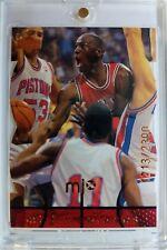 Rare: 1998 98 Upper Deck MJX Michael Jordan MJ Timepieces #33 #'d of 2300 Bulls