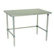 "John Boos St6-24108Sbk Work Table Stainless Bracing 108""W x 24""D"