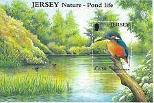 JERSEY . £1.50 Kingfisher Mini Sheet  MINT NH