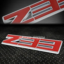 FOR FAIRLADY Z33 METAL BUMPER TRUNK GRILL EMBLEM DECAL LOGO BADGE CHROME RED