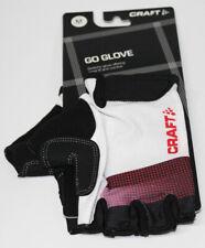 Craft Hombre Go Guante Bicicleta Radhand Zapato Blanco Brillante Rojo 9 / M