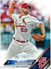 ⚾️ 2016 ~ Topps #319 ~ Adam Wainwright ~ St. Louis Cardinals ~ NmMt=8
