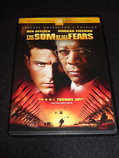 THE SUM OF ALL FEARS DVD  (LIKE NEW)