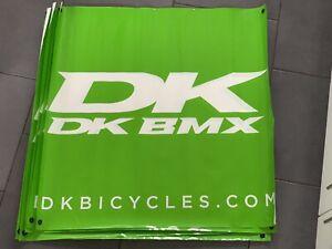 2x DK BMX DK Bikes Banner