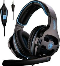 SADES SA810 Gaming Headset Surround Sound Stereo with Noise IsolationMicrophone