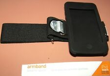 GRIFFIN Sport Armband for iPod touch 2nd Gen & 3rd Gen, Black, reflective tabs