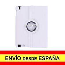 """Funda Rotativa Piel Para IPAD PRO ( 10.5"""") Carcasa Protector BLANCO a3529"""