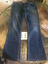 Womens Joes Jeans Boot Cut Distressed Provocateur W30  34x30