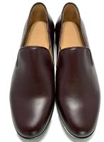 NEW, DUKE + DEXTER MEN'S LEATHER BURGUNDY LOAFERS, $315