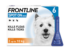 More details for frontline spot on small dog flea & tick treatment 1,2,3 & 6 pipettes avm-gsl