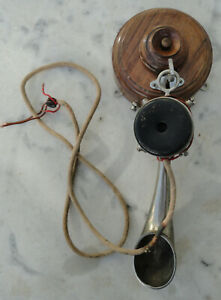 téléphone ancien système Berliner