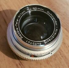 Schneider-Kreuznach Retina-Tele-Arton 85mm F4 Kodak DKL Mount Lens
