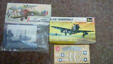 Airfix Sopwith Camel 1/72 Scale Blister Pack FREE UK P&P Revell P-47D thunderbol