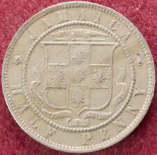 Giamaica Mezzo Penny 1890 (D2007)