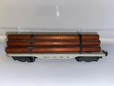 American Flyer Lines 905 Flat Car With 5 Logs