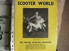 Scooter World Magazine December 1962, Lambretta, Vespa