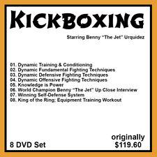 Benny Urquidez's Dynamic Training and Kickboxing Series (8 DVD Set)