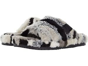 {1119110-GREY} UGG Fluff You Cali Collage Men's Slippers - Grey *NEW*